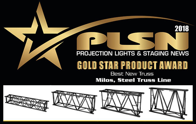 MILOS Steel Truss gewinnt Gold Star Product Award