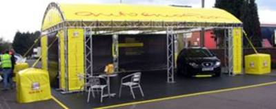 M290 Seat outdoor booth - UK