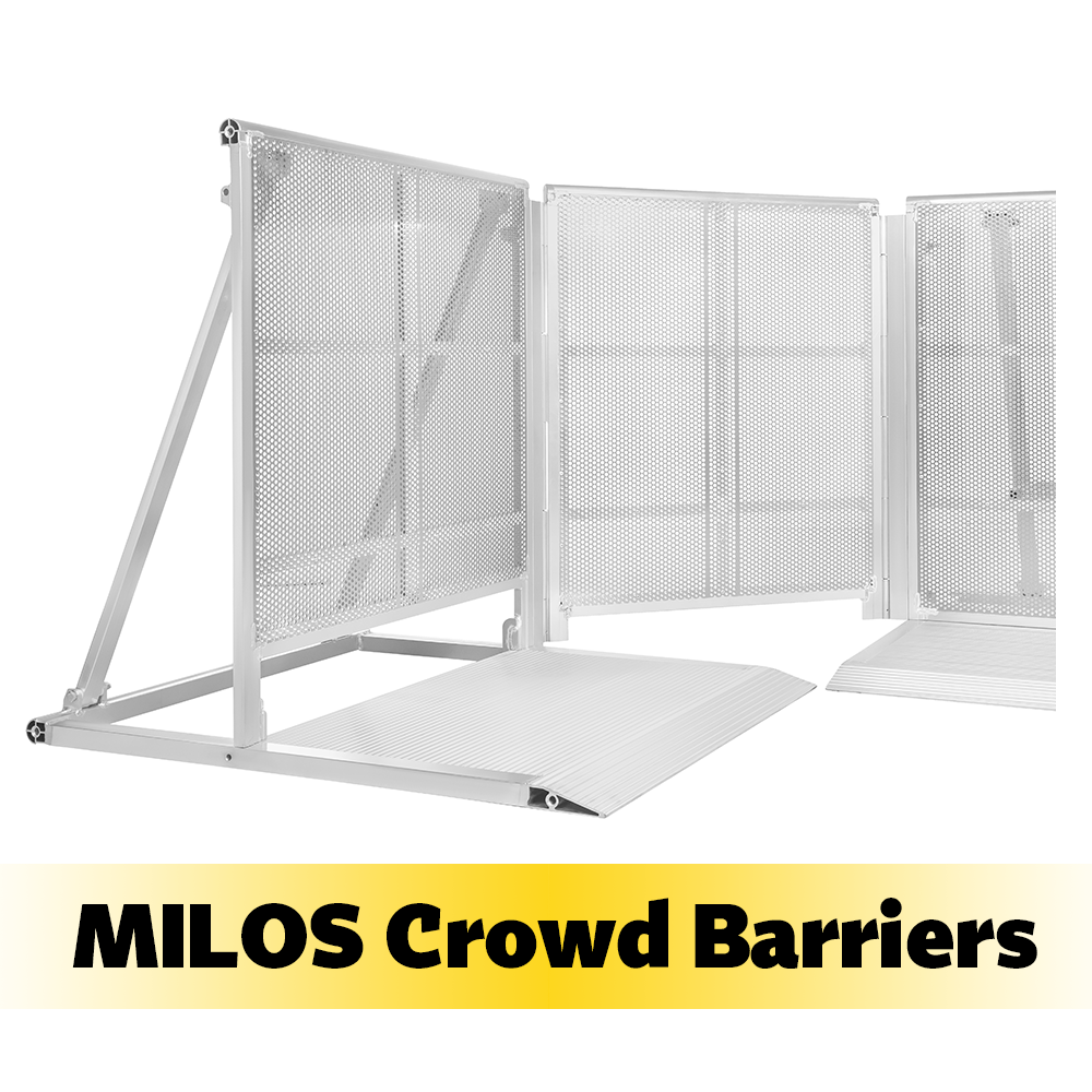 Modular Crowd Barrier System