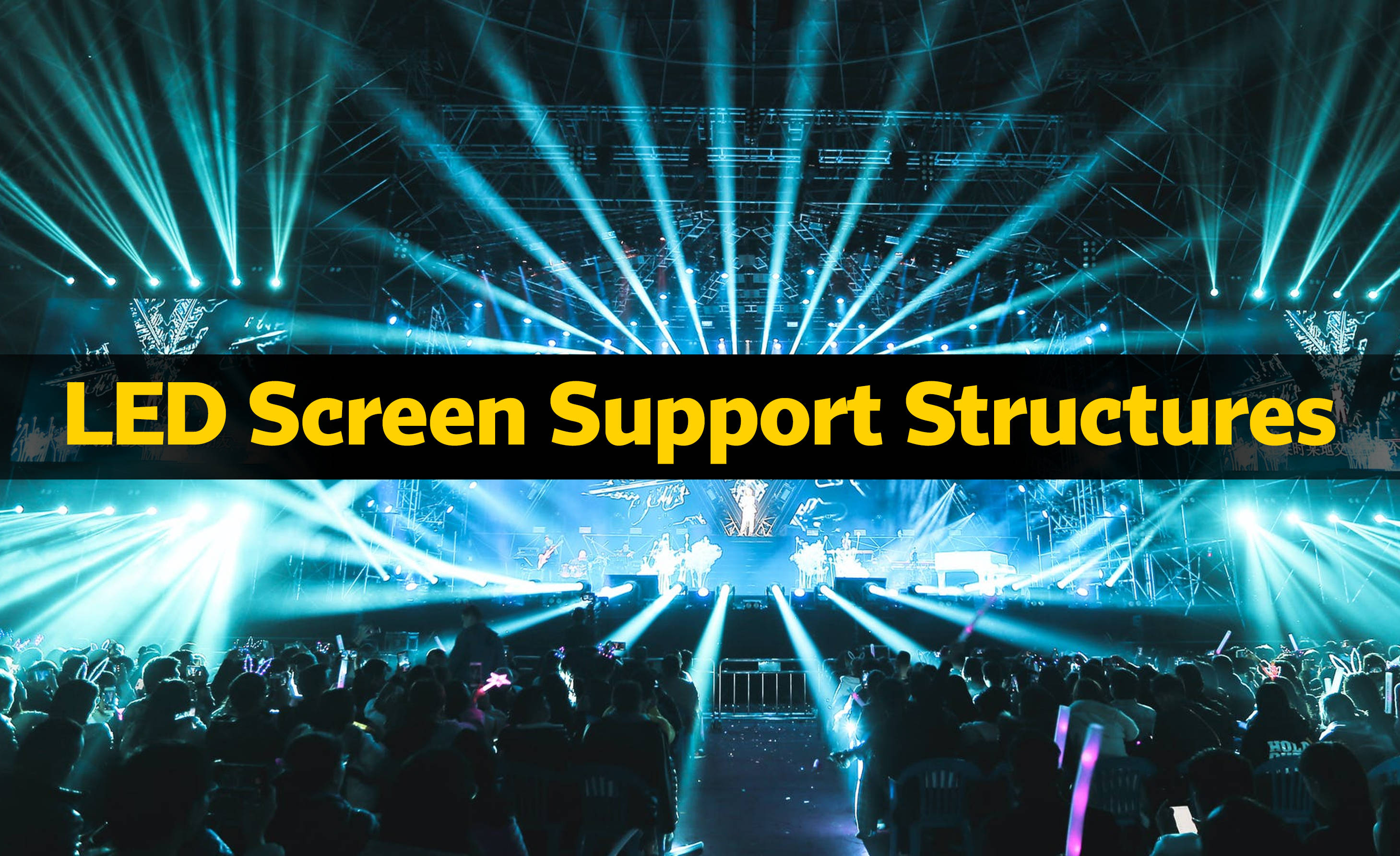 MILOS LED Screen Support Structures